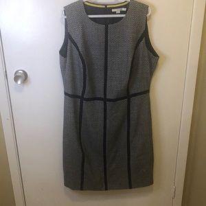 Boden plus size wool sleeveless dress
